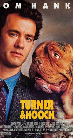 Turner and Hooch posters for sale online. Buy Turner and Hooch movie posters from Movie Poster Shop. We're your movie poster source for new releases and vintage movie posters. Great Films, Good Movies, Awesome Movies, Funny Movies, Tom Hanks Filme, Turner And Hooch, Tom Hanks Movies, Image Film, Foto Poster