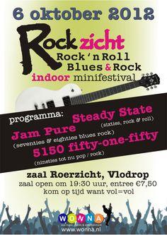 Rockzicht .live muziek avond georganiseerd door Wonna