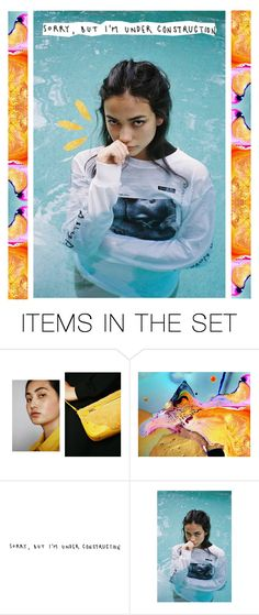 """""""Under construction"""" by jessicamaire ❤ liked on Polyvore featuring art and pocpolyvore"""
