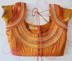 30 Latest Patch Work Saree Blouse Designs