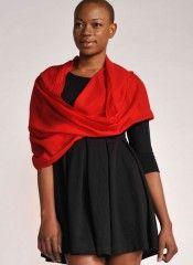 #RedScarf By #VeryPashmina