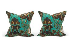 Indie Silk Pillows, Pair I on OneKingsLane.com