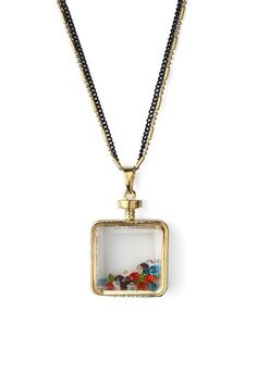 Double layered Bottle Necklace
