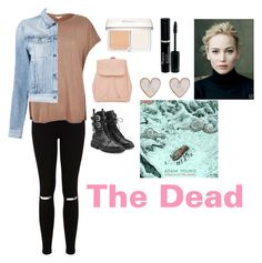 """""""The Dead"""" by charbear231 ❤ liked on Polyvore featuring Christian Dior, Miss Selfridge, River Island, 3x1, Giuseppe Zanotti and New Look"""