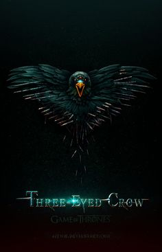Game of Thrones three-eyed crow by jjfwh
