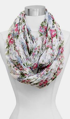 Jeanne Infinity Scarf in Spring