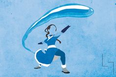 Illustration anime design fire Aang Avatar water earth world animation atla katara zuko toph Nickelodeon digital art avatar the last airbender digital air azula spirit elements airbender earthbender waterbender Firebender nation benders nicktoon metalbender