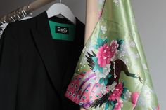 Kimono Green Blossom