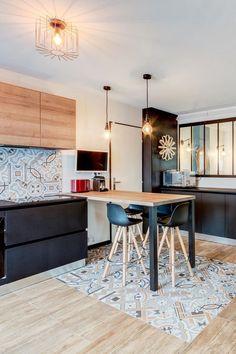 cocina-luminosa-suelo-ceramicas | Home design | Pinterest | Progetti ...