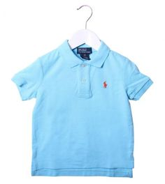 Ralph Lauren Turquoise Classic Polo Shirt