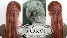Vikings Hairstyling – Tutorial for Torvi's Basketweave Braid