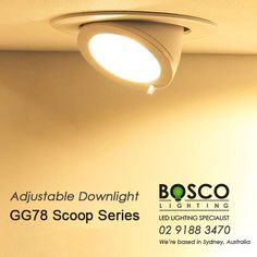 BoscoLighting Adjustable Recessed Scoop Gimbal Downlights are great for retail shops to highlight products and displays. Offered in different wattages and made from high quality materials. Very easy to install and maintain. Contact us for more info! Recessed Downlights, Reception Areas, Retail Shop, Light Up, Highlight, Bedroom Ideas, Shops, Display, Led