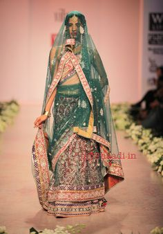 Indian Bridal wear collection by Rocky S