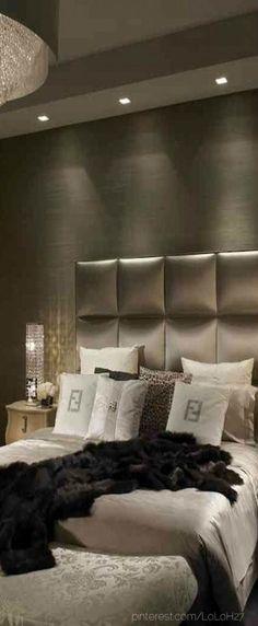 30 Dramatic Bedroom Ideas - Interior Design Ideas, Home Designs, Bedroom, Living Room Designs