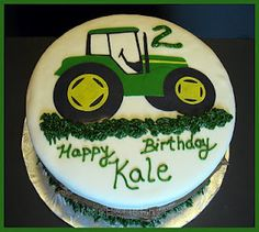 Tractor cake (red tractor)