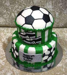 football cake 8 | Irena | Flickr Cupcake Cookies, Cupcakes, Soccer Ball Cake, Happy Birthday Man, Birthday Cake, Cakes For Men, Savoury Cake, Cake Mold, Original Recipe