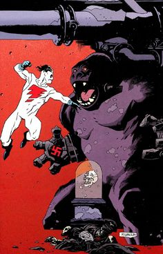 awyeahcomics: Madman by Mike Mignola