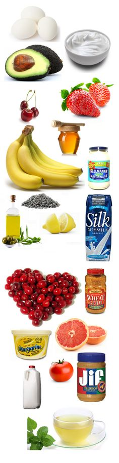 20 Beauty Foods (find out what food is good for your hair, skin or face)