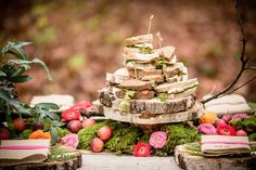 sandwich table, bohemian wedding, rustic & casual style food