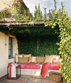 outdoor nook.