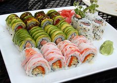Life is like a giant plate of sushi...