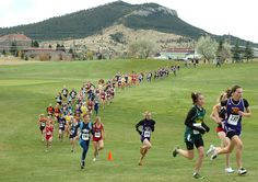 Probably Gracie's favorite sport: CROSS COUNTRY!