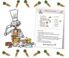 Recettes de cuisine pour la classe