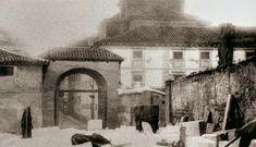 Restos del cuartel de Monteleón y del convento antes de hacer la plaza del Dos de Mayo.