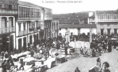 Mercado en Praza da Liberdade #carballo #acoruña #fotoantigua #fotohistorica Street View, Painting, Art, Liberty, Old Photography, Fotografia, Pictures, Art Background, Painting Art