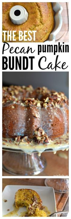 Our family LOVES this cake and we enjoy it every Fall! THE BEST pecan pumpkin…