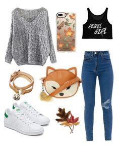 """""""🍂"""" by lozovaya-ekaterina on Polyvore featuring мода, Mulberry, Anne Klein и Casetify"""