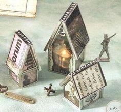 Soldered houses, Sally Jean by aftr