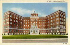 St. John's Hospital, Tulsa, OK.  Born here 1951.