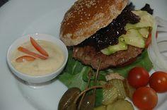 ganske enkelt: Hamburger med balsamicoløk