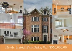 Just listed in Fair Oaks, Va.! This property features beautiful and inviting-sun drenched rooms, gleaming hardwood floors, and a fabulous open floor plan. Check out the gorgeous gourmet kitchen featuring gas cook-top with downdraft, double wall ovens, large breakfast bar, a light-filled kitchen and family room combo with gas fireplace and Sony multimedia surround sound. Dual Zone HVAC too! Plus, a lovely living room with cathedral ceilings and fantastic master suite. A MUST see…