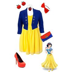 boredom at work= disney princess outfit creations