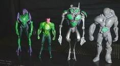 "Four DC Comics Green Lantern Movie - "" Action Figure Bundle Mattel 2011 Green Lantern Movie, Dc Comics, Lanterns, Action Figures, Hobbies, The Unit, Toys, Vintage, Activity Toys"