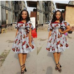 Online Hub For Fashion Beauty And Health: Stylishly Colorful Short Gown Dress For The Divas African Fashion Ankara, Latest African Fashion Dresses, African Print Fashion, Short Gown Dress, Short Gowns, Short African Dresses, African Print Dresses, Long Dresses, Simple Dresses