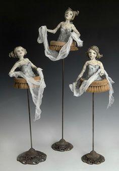 The Fairies My Children Think Clean Up After Them  elissa farrow-savos, artist