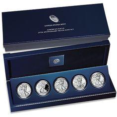 2011 25th Anniversary Silver Eagle Set - MintProducts.com