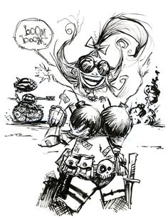 Tank Girl by Skottie Young