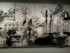 Niki de Saint Phalle peinture a la carabine grand Palais Paris
