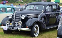 "1938 Buick Century ""Straight Eight"" 320ci (5.2L) 120hp Engine (Photo by Barry…"
