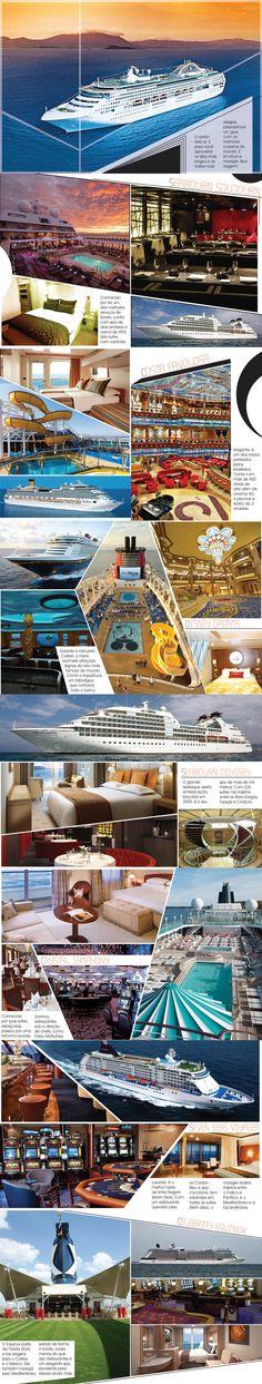 Os melhores navios de cruzeiro do mundo!
