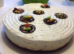 "Easter cake ""Birds nest"" 2015 with lemon and chocolate"