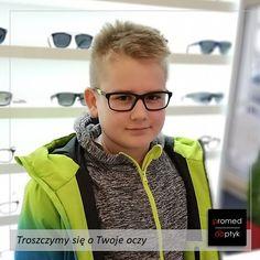 Skądinąd wiedzieliśmy, że Kamil jest bardzo fotogeniczny 😎 Bezsprzecznie 👍😍🤩 #optyk #optometrysta #okulary #oczy #wzrok #badanie #ekspert #promedoptyk #zaufanie #styl #foto