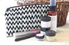 Items similar to Makeup bag/Mini wetbag - Ghastlies Chevron on Etsy Chevron, Wet Bag, Louis Vuitton Damier, Makeup, Cool Stuff, Stuff To Buy, Etsy Shop, Mini, Pattern