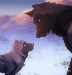 Jademere and her mom Kira. Kira is the leader of the pack Solitude. Her mate died saving her pup Jademere from a tornado.
