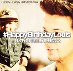 HAPPY BIRTHDAY!! And while it's Louis' bday, I continue to go on day 3 without power 51 hours. I'm starting to go crazy