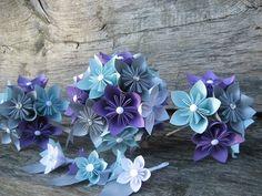 Mei Origami Wedding Bouquet Package Mei Origami Wedding inspiration wedding ideas wedding decor  wedding decor 2 inspiration found and beautiful